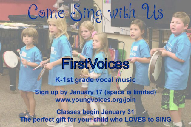 Sign Up for FirstVoices @ Young Voices of Colorado Studios | Englewood | Colorado | United States