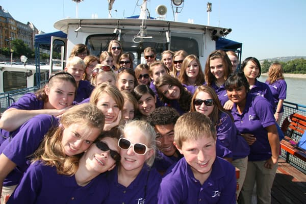 2009 Group on Boat