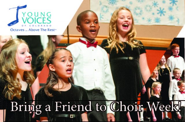 TM1 Bring a Friend to Choir @ YVC Studios
