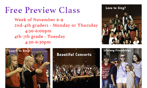 Free Preview Class