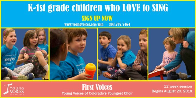 FirstVoices new season begins August 29 - Call now to sign up!